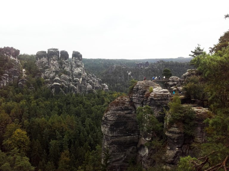 First hiking in Saxon Switzerland | IDA and DAAD